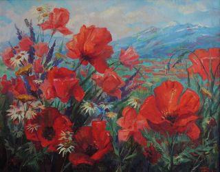 Лирический пейзаж в картинах Андрея Зотова