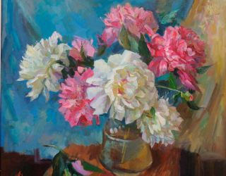Праздник цветов в картинах Андрея Зотова